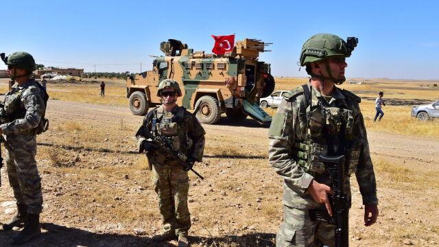 Turcy na wspólnych patrolach z Amerykanami.