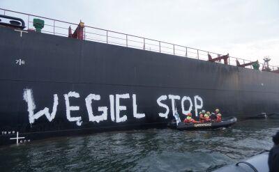 Aktywiści zablokowali wpłynięcie węgla z Mozambiku