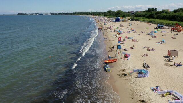 Sinice odpłynęły z Bałtyku. Można się kąpać na gdańskich plażach