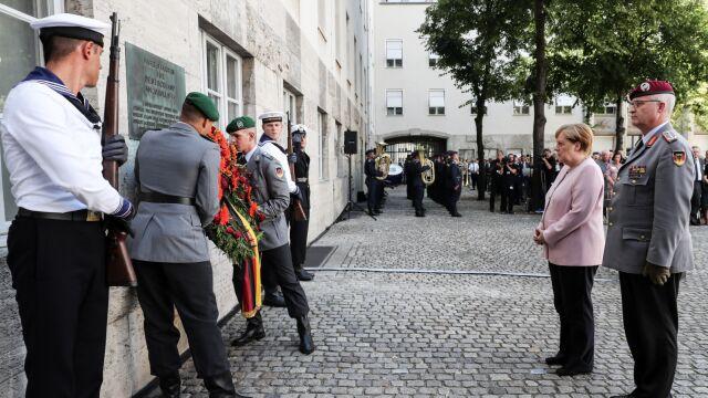 75 lat temu próbowali zabić Hitlera. Merkel uczciła ich pamięć