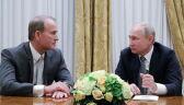 Władimir Putin spotkał się z Wiktorem Medwedczukiem