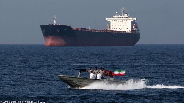 Tankowiec wpłynąłna irańskie wody i ślad po nim zaginął