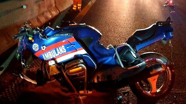 """""""Doświadczony motocyklista, aktywny ratownik"""". Pomagał innym, sam zginął na drodze"""