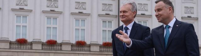 """""""Mam nadzieję, że zbudujemy taką relację, jaka była między prezydentami Kaczyńskim i Adamkusem"""""""