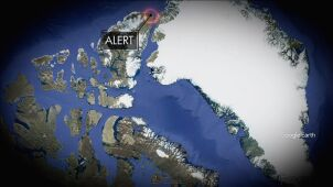 Rekord temperatury niedaleko bieguna