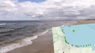 Sinice w Bałtyku. Czerwone flagi na dwóch gdańskich kąpieliskach