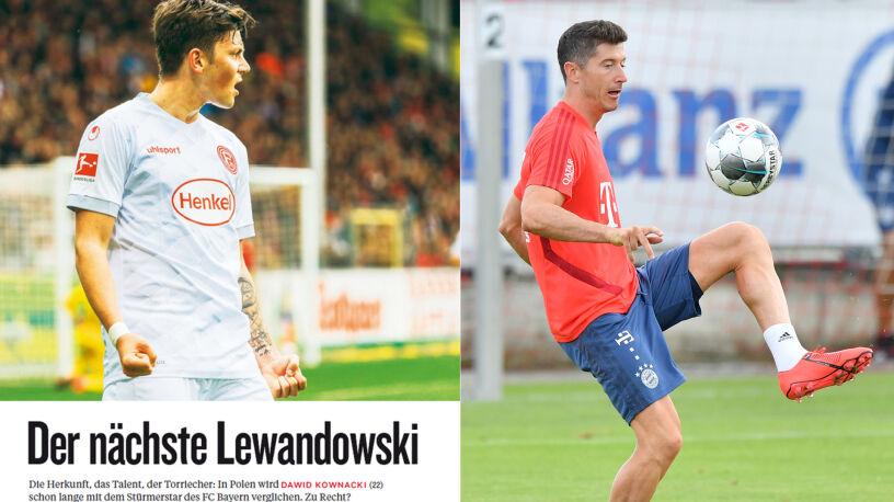 """""""Następny Lewandowski"""". W Niemczech pochwały dla Kownackiego"""