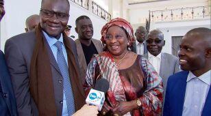 Delegacja z Senegalu  w Sejmie.