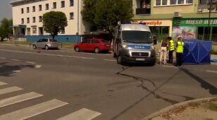Przechodziły przez pasy, wjechało w nie auto. 84-latka nie żyje, policja ma podejrzewanego