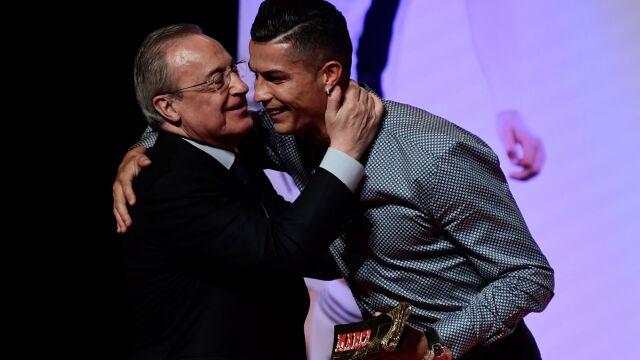 """Ronaldo spotkał się z prezydentem Realu. """"Mnie też było szkoda odejścia z Madrytu"""""""