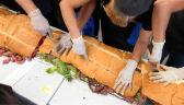 Rekord na najdłuższą kanapkę w Meksyku