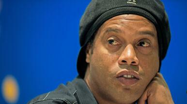 Ronaldinho przygnębiony pobytem w więzieniu.