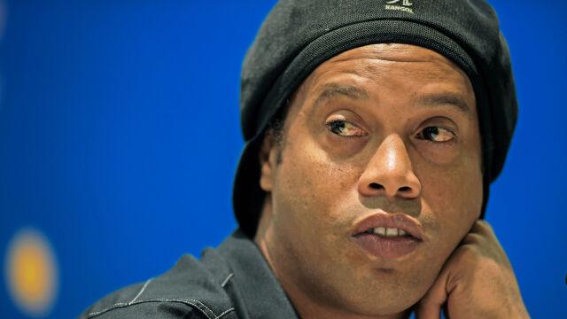 """Ronaldinho przygnębiony pobytem w więzieniu. """"Uśmiech zniknął"""""""