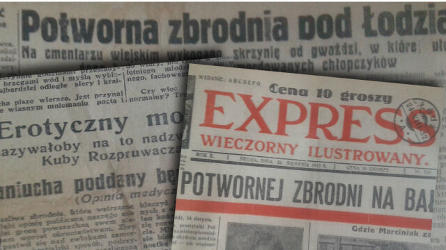 """Świat przedwojennych gazet. """"Jak się kogoś pomówiło, dziennikarz jechał z kwiatami"""""""