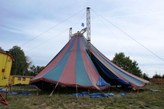 Namiot stanie w środę w sąsiedniej Czarnej Wodzie