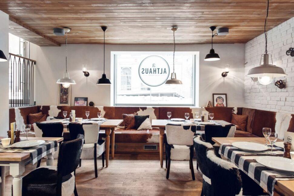 Nie jedzenie a wn trze polska restauracja walczy o tytu - Deco restaurant moderne ...