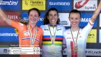 Cała ceremonia wręczenia medali za wyścig ze startu wspólnego elity kobiet w MŚ