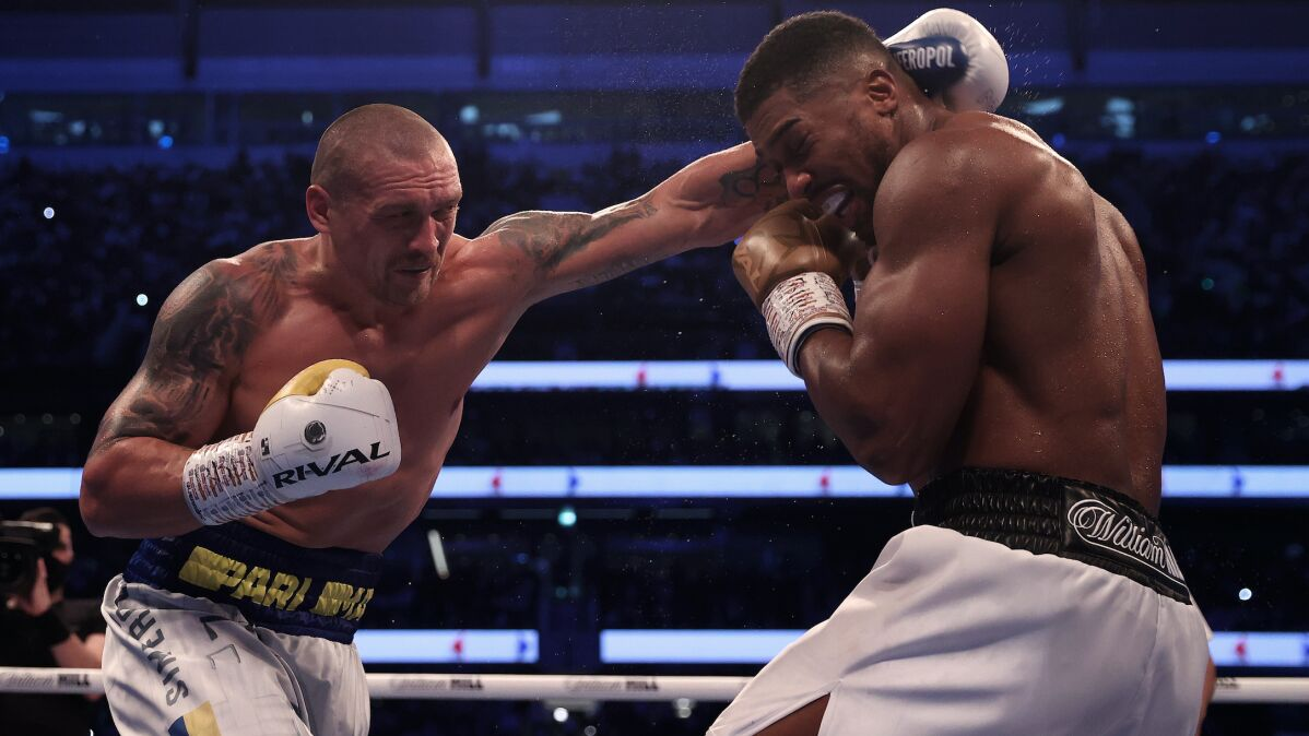 Joshua bezradny. Ukrainiec nowym mistrzem świata