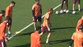 Trening Realu Madryt przed rewanżowym meczem z Atalantą w Lidze Mistrzów