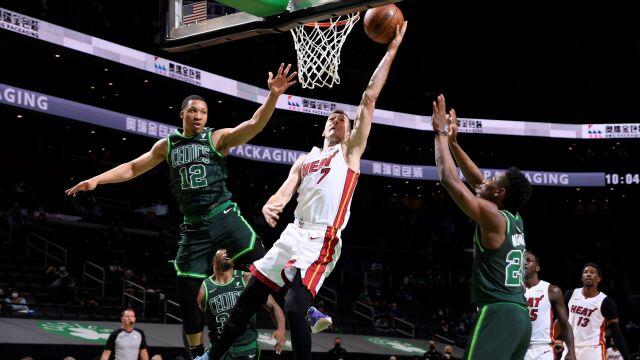 Celtics ograni, Heat mogą szykować się do gry w play off