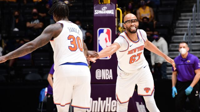 Knicks osiągnęli cel. Po ośmiu latach znów zagrają w play offach