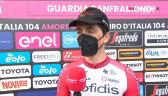 Lafay po wygraniu 8. etapu Giro d'Italia