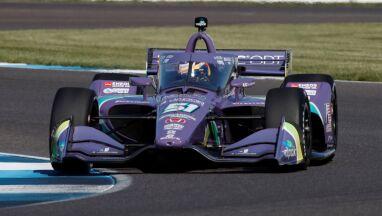 Grosjean rozpędza się w IndyCar. Ma pole position w Indianapolis