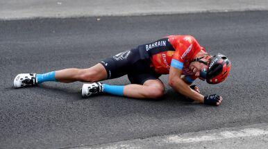 Wieczny pechowiec. Mikel Landa znowu przedwcześnie żegna się z Giro d'Italia
