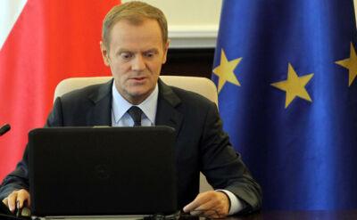 Premier zapowiedział złożenie wniosku o wotum zaufania