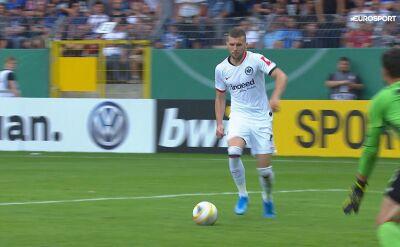 Mannheim - Eintracht Frankfurt 3:5 - trzeci gol Rebicia