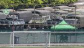 Chińskie siły zbrojne na ćwiczeniach przy granicy z Hongkongiem