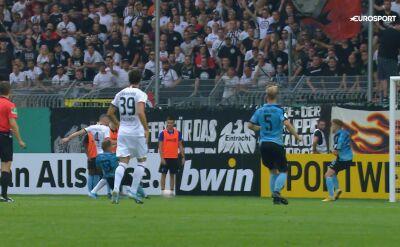 Mannheim - Eintrach Frankfurt 3:5 - pierwszy gol Rebicia