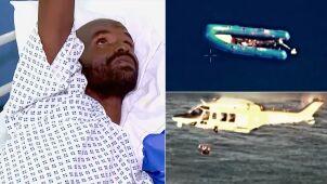 11 dni dryfował na Morzu Śródziemnym. Uratowały go maltańskie służby