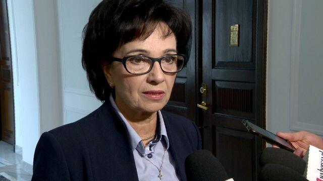 Marszałek Sejmu: Muszę usiąść, przejrzeć dokumenty. Jakieś decyzje podejmę