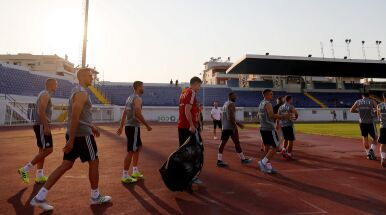 Ma być inna Legia w greckim upale.
