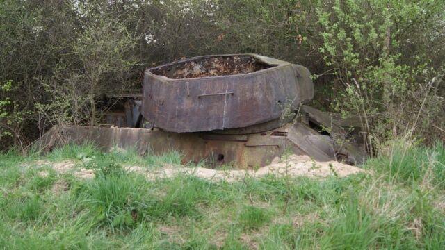 Czołg przeleżał na poligonie od lat 80.