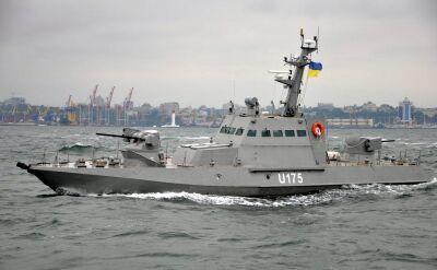 Ukraińskie statki przetrzymywane przez Rosję