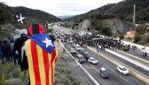 Katalońscy separatyści zablokowali autostradę na granicy z Francją