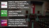 Sejm wybrał nowe składy komisji