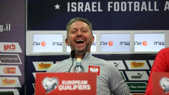 """Brzęczek wie, że mecz z Izraelem to nie spacerek. """"Tym razem czeka nas trudniejsze zadanie"""""""