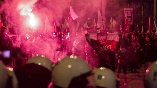 Zarzuty po marszu narodowców. Miasto zawiadomi prokuraturę w sprawie Międlara