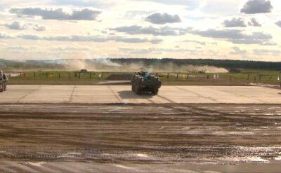 Ćwiczenia rosyjskich wojsk pod Moskwą