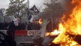 """Demonstracje w pierwszą rocznicę ruchu """"żółtyh kamizelek"""""""