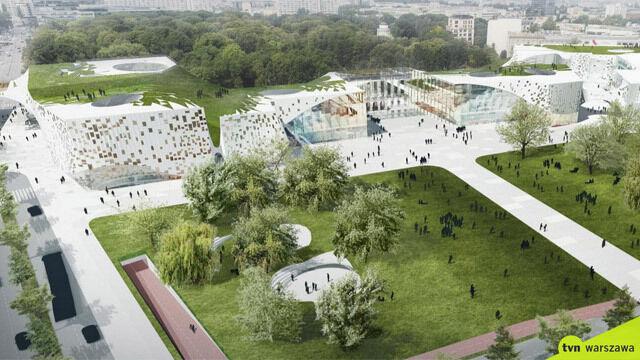 Dachy z zielenią, parking dla rowerów, taras sztuki. Wizje placu Piłsudskiego