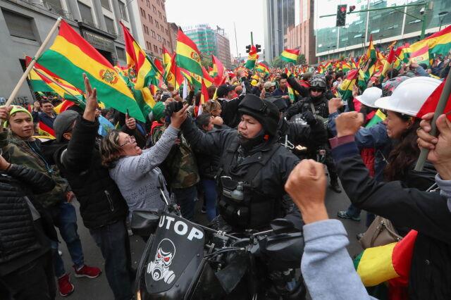 Evo Morales obalony
