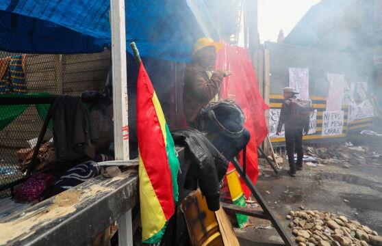 Zamieszki w La Paz