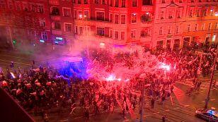14 osób zatrzymanych po marszu narodowców we Wrocławiu
