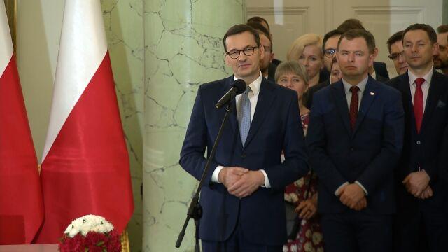 Morawiecki: naszym podstawowym celem jest uczynienie z Polski kraju najlepszego do życia w Europie
