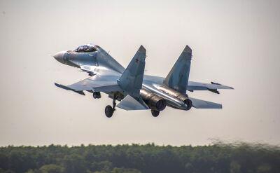 Ćwiczenia załogi rosyjskiego Su-30SM