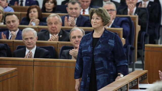 Olga Tokarczuk wysłała nowemu Senatowi wiadomość